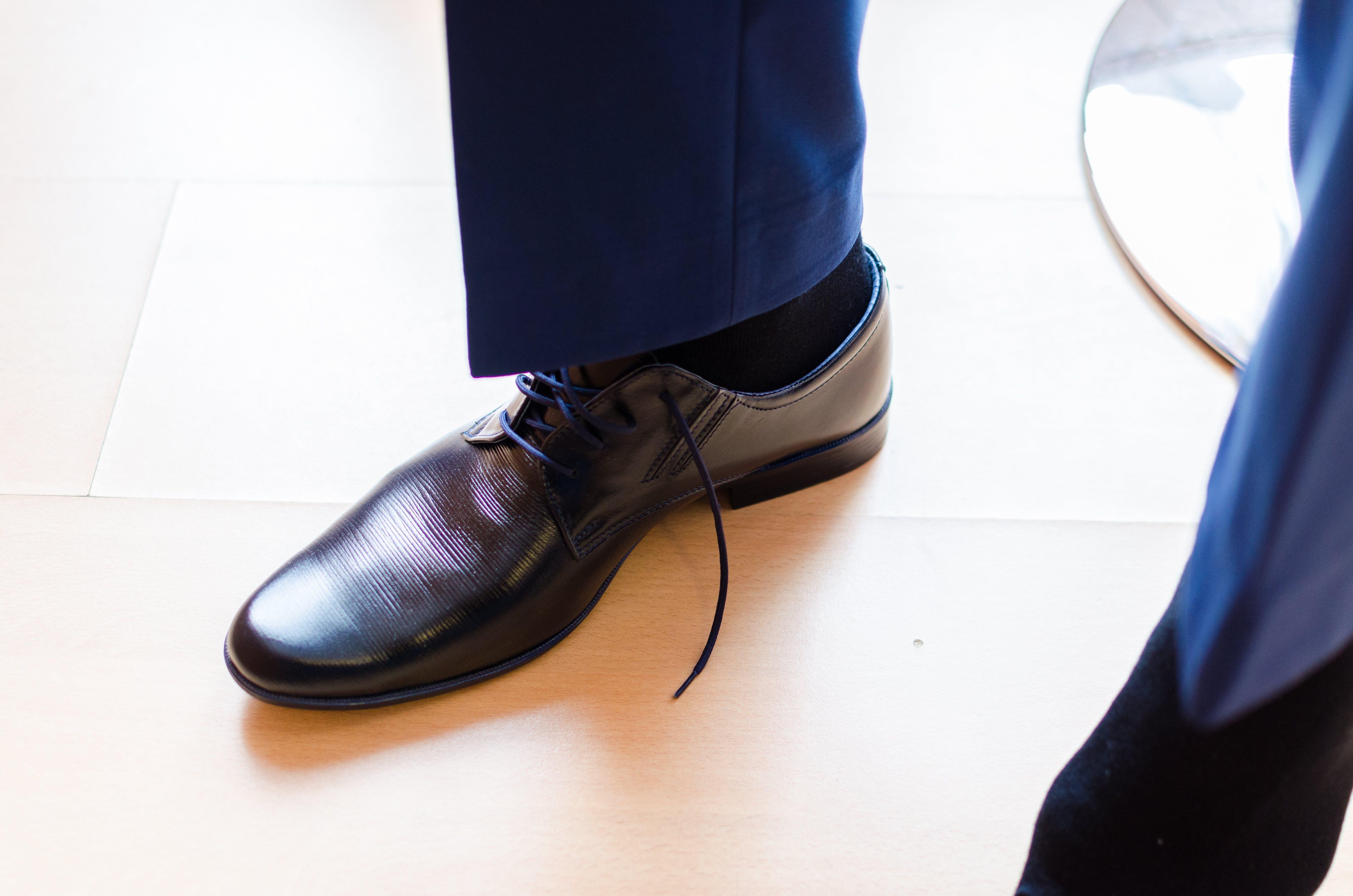 black, blue, boot
