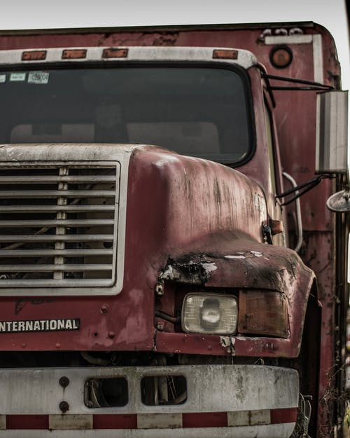 古いトラックの無料の写真素材