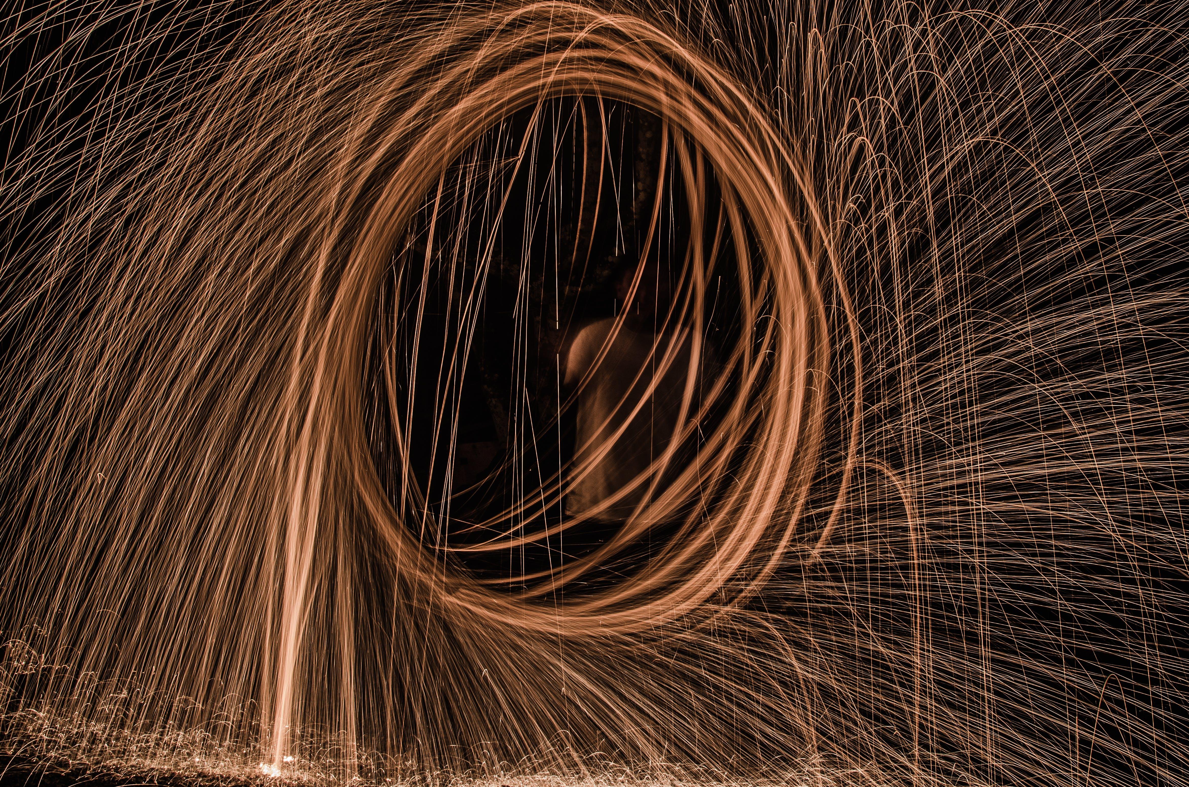 Free stock photo of long exposure