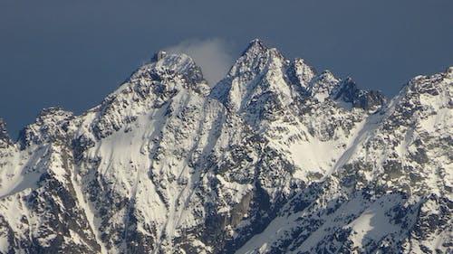 Základová fotografie zdarma na téma vysoké tatry, zasněžené vrcholy