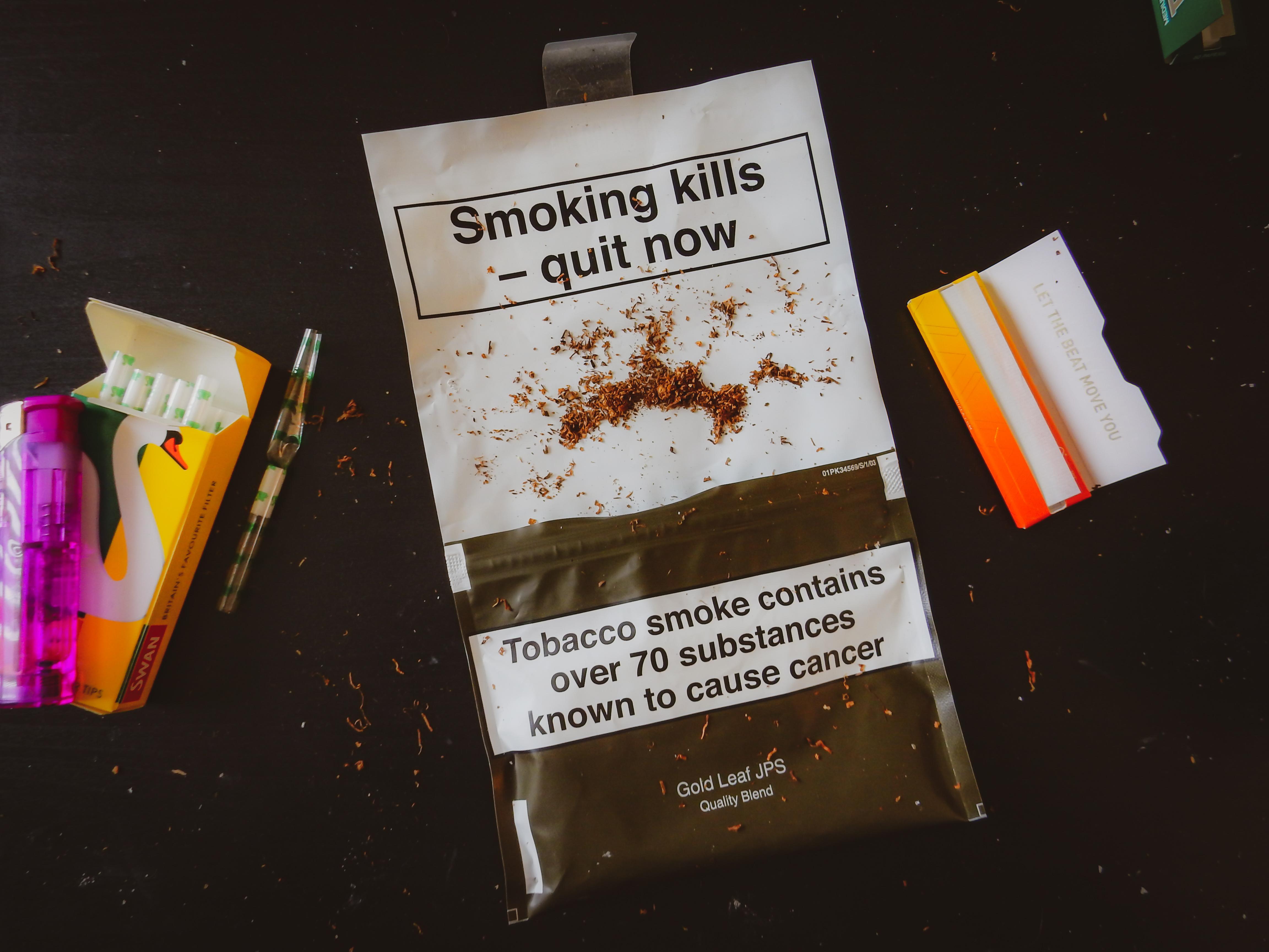 kouření rtů