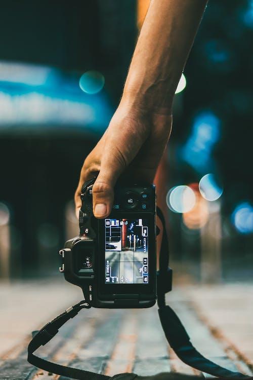 Foto d'estoc gratuïta de càmera, desenfocament, enregistrament de vídeo, equip per a la càmera
