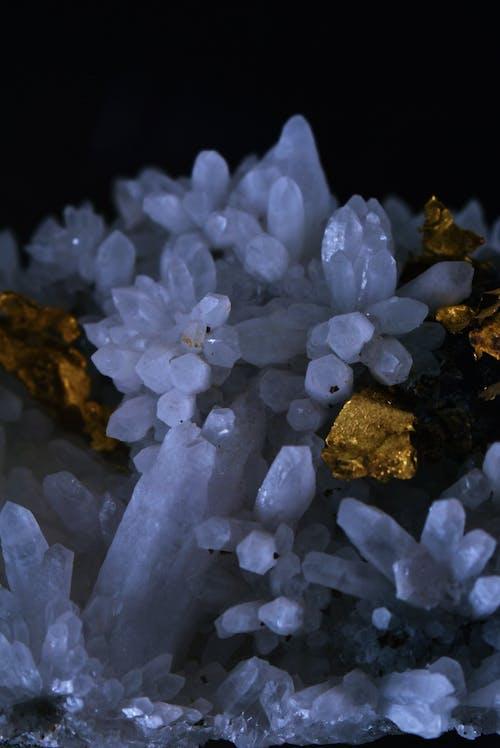 水晶, 特寫, 金, 金色 的 免费素材图片