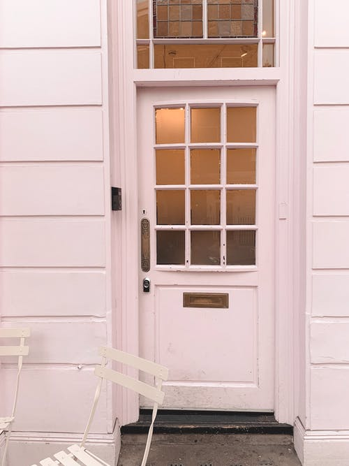 White Wooden Door