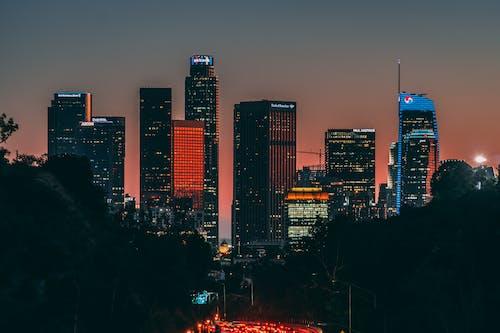 elysian park, 건물 외장, 도시, 로스앤젤레스의 무료 스톡 사진