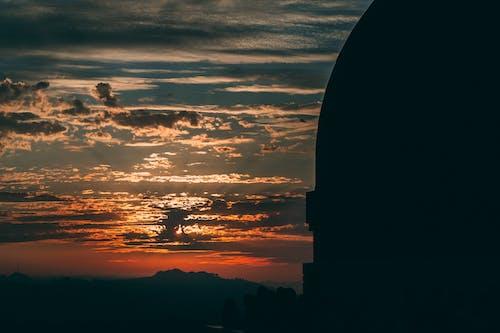 구름 낀 하늘, 붉은 하늘, 아름다운 석양, 일몰의 무료 스톡 사진