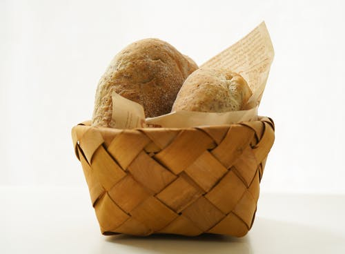 Close-Up Photo Of Baked Bread Platter