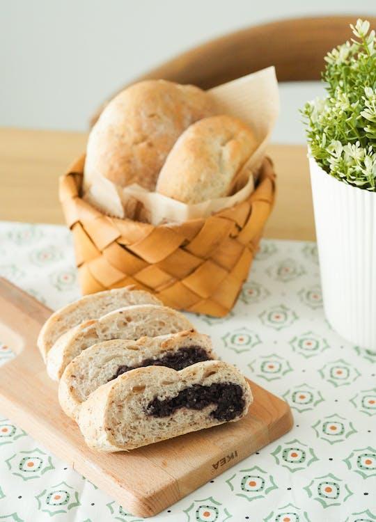 белый хлеб, вкусный, выпечка