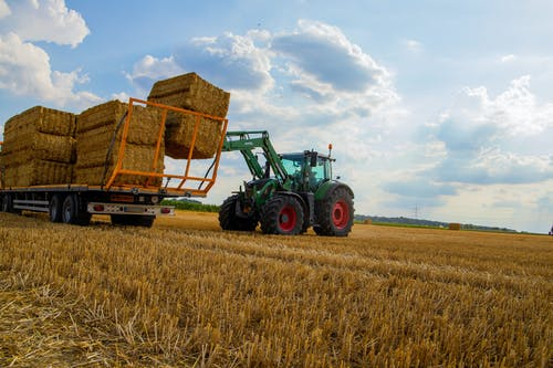 下落, 农业机械, 小麥, 小麦面包 的 免费素材照片