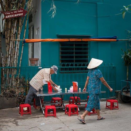 Foto stok gratis bangsa asia, bersama, dewasa, di luar rumah