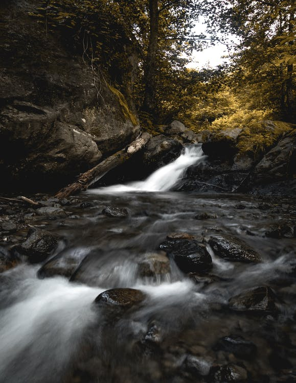 Long-Exposure Photography of River