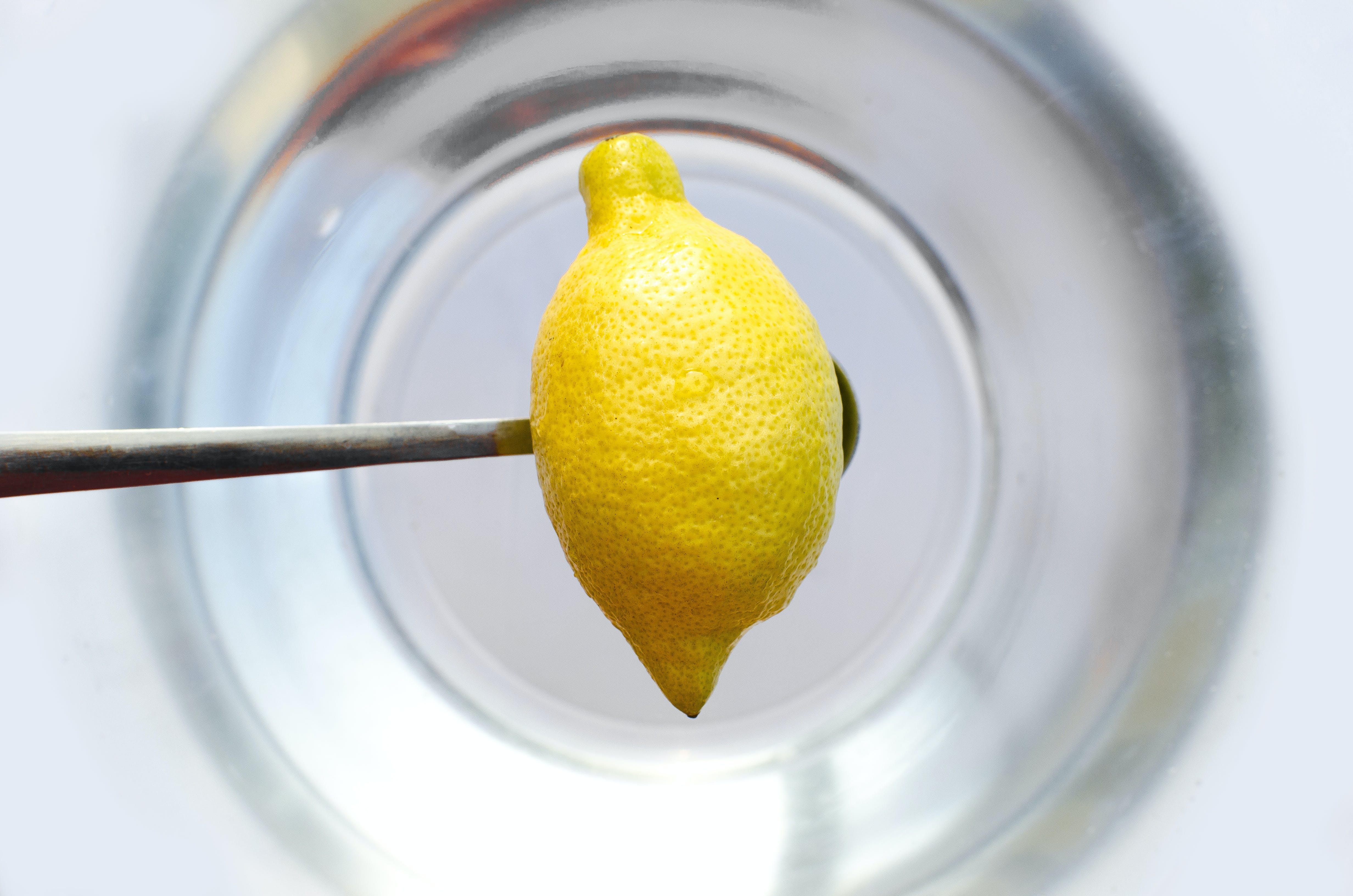 Yellow Citrus on Spoon