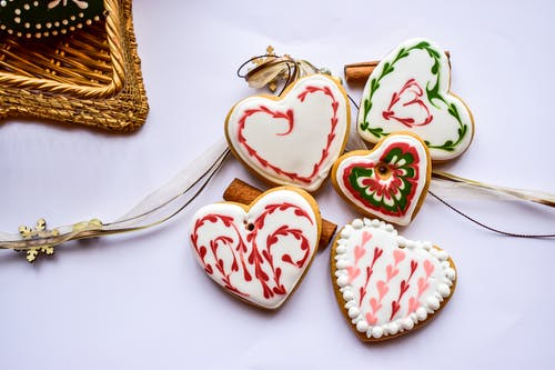 Photos gratuites de aliments, amour, artisanal, biscuits