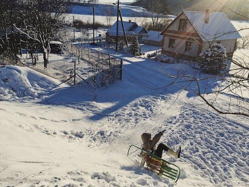 Immagine gratuita di Bielorussia, inverno, rurale