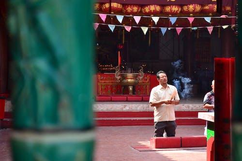Asya, Budist tapınağı, dua etmek, Endonezya içeren Ücretsiz stok fotoğraf