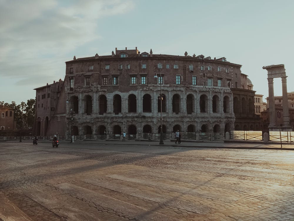 amfiteatr, amfiteatr flawiuszowy, architektura