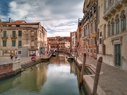 Darmowe zdjęcie z galerii z architektura, budynki, canal grande, domy