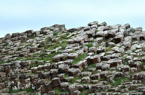 Foto profissional grátis de basalto, geologia, padrão geométrico, pedras