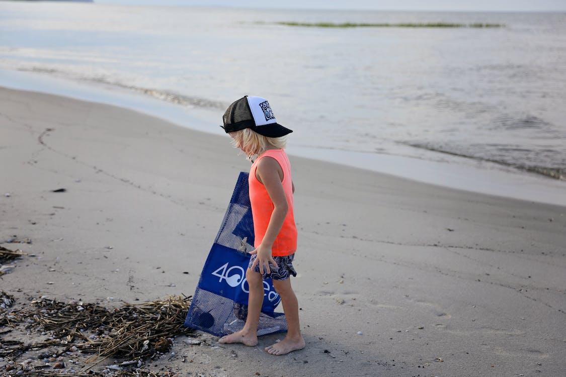 curăță, curățare, curățarea plajei