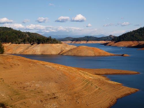 Imagine de stoc gratuită din albastru, apă, peisaj, portocală