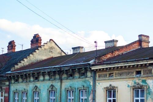 屋頂, 建築, 建造, 老建築 的 免費圖庫相片