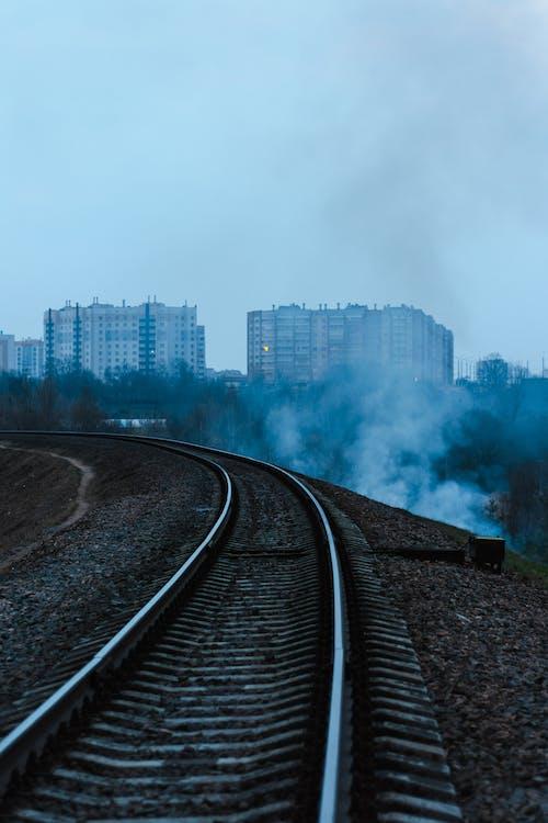 Ingyenes stockfotó este, füst, köd, rugó témában
