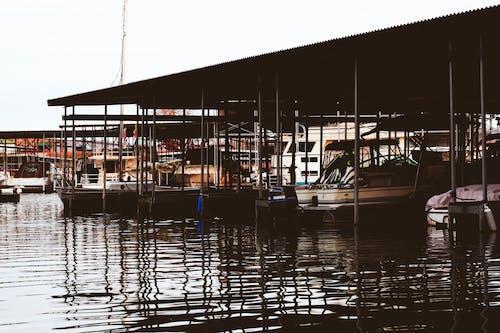 ボートデッキ, ボートフェリー, ボートロープ, マリーナの無料の写真素材