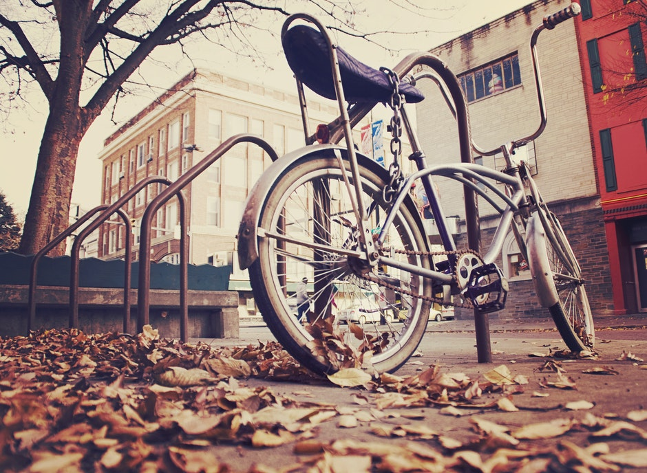 bicycle, bike, lock