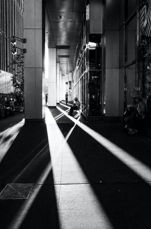 Fotobanka sbezplatnými fotkami na tému čierna a biela, Manhattan, mesto, mesto New York