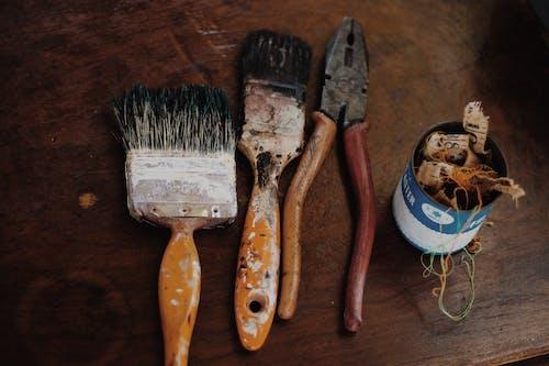Ảnh lưu trữ miễn phí về bức họa, cọ sơn, cũ, dơ bẩn
