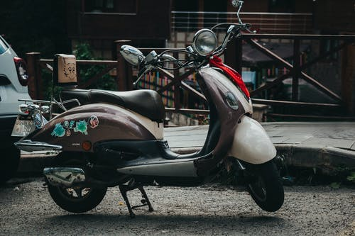 Free stock photo of motorcycle, retro
