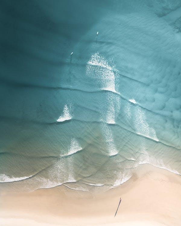 austrálie, denní světlo, fotka zvysokého úhlu