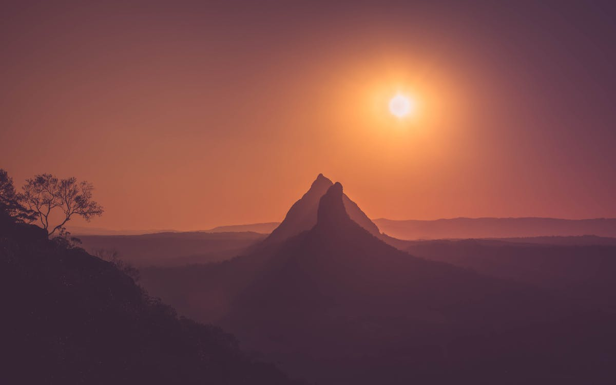 4k ταπετσαρία, Ανατολή ηλίου, αυγή
