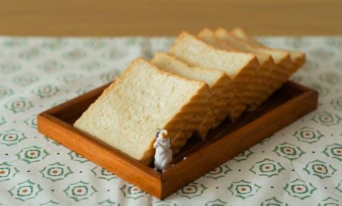Gratis stockfoto met beeldje, binnenshuis, brood, close-up