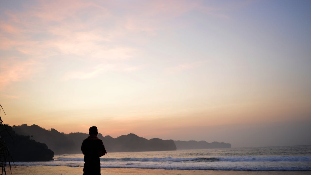 Free stock photo of alone, beach, boy