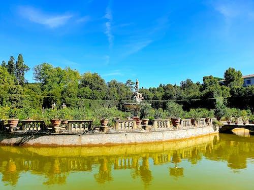 Foto stok gratis destinasi turis, fotografi perjalanan, kebun boboli, objek turis
