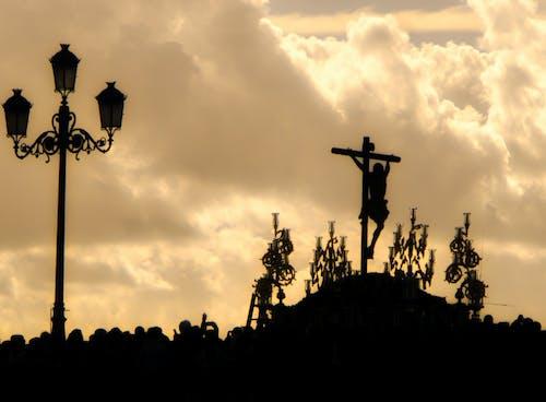 Fotos de stock gratuitas de catolicismo, católico, Cielo oscuro, crucifixión