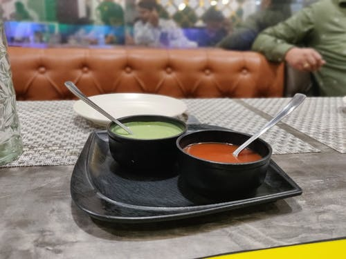 Foto d'estoc gratuïta de menjar, salsa de tomàquet, sopar