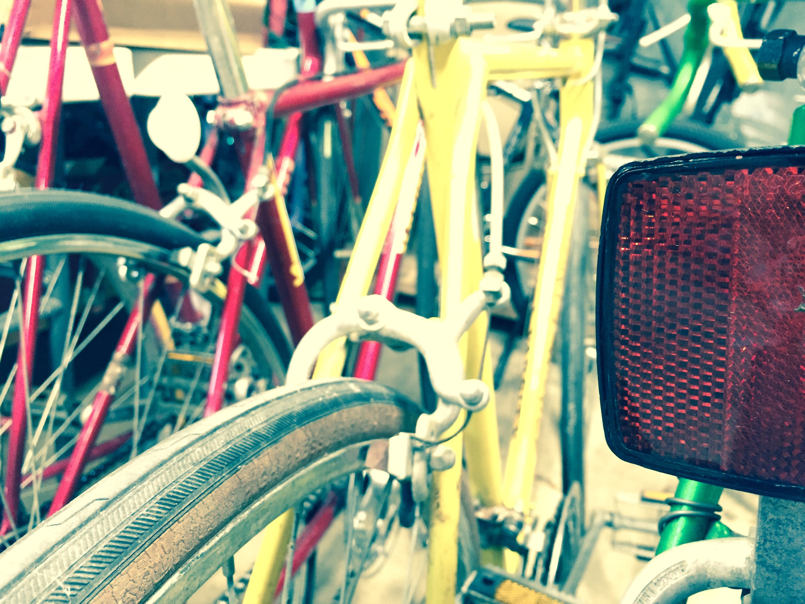 Free stock photo of Vintage Bicycles