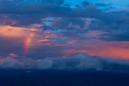Immagine gratuita di alba, arcobaleno, cielo, crepuscolo