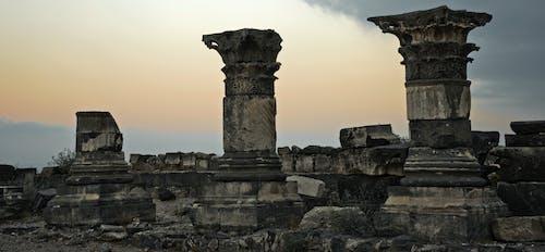Free stock photo of ancient, columns, Israel, ruins