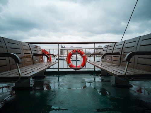 Základová fotografie zdarma na téma bouře, cestování, člun, denní světlo