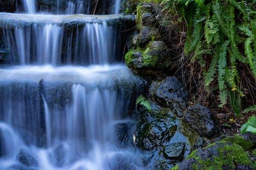 Foto profissional grátis de água, ao ar livre, cachoeiras, cascata