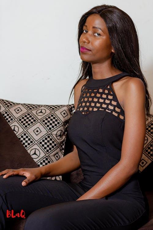 Free stock photo of beautiful black female model, black female model, black model, female model