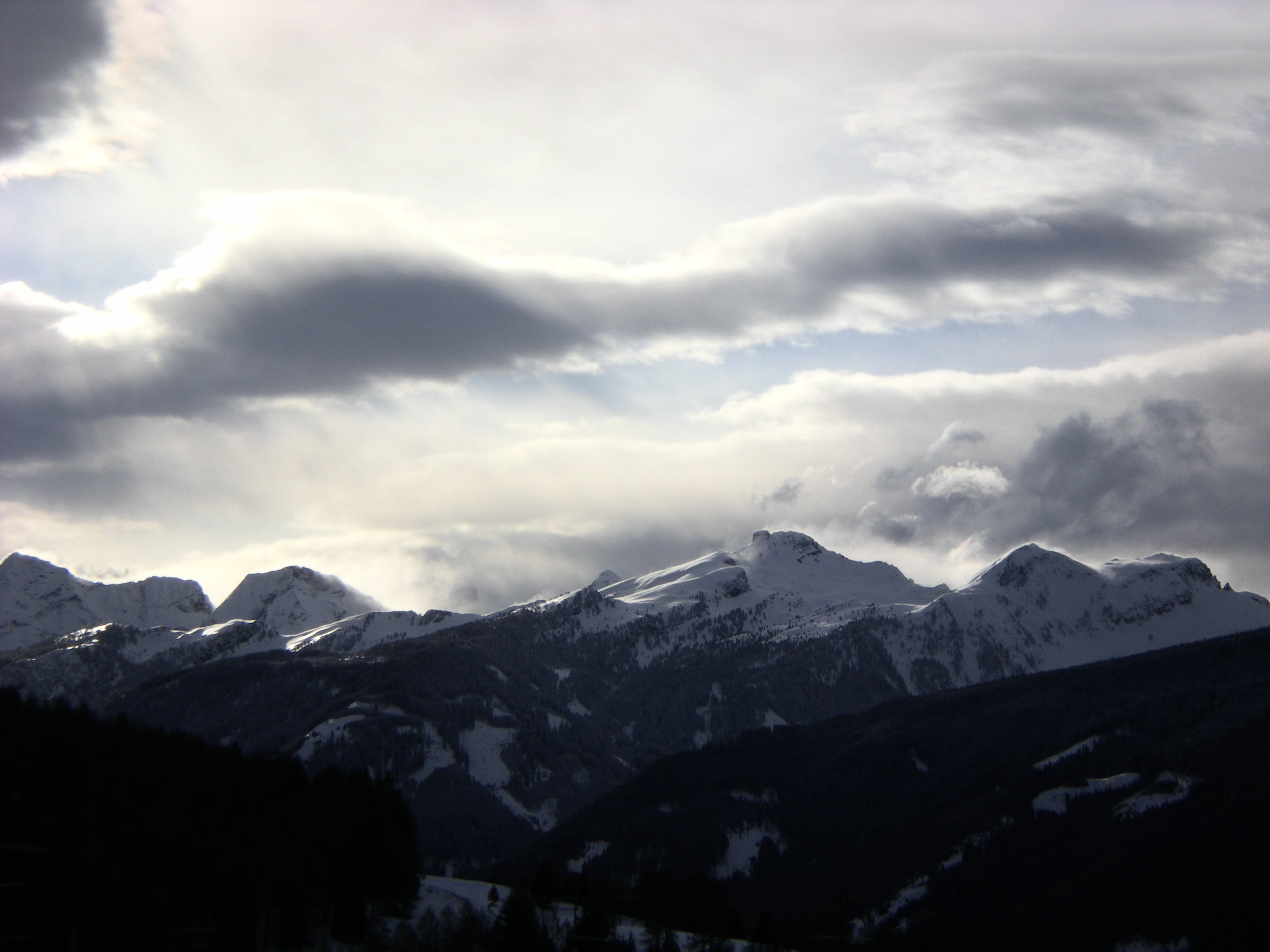 Free stock photo of cloud, dolomiti, Fiemme, Lagorai
