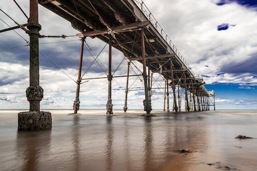 north yorkshire, ソルトバーン, 桟橋の無料の写真素材