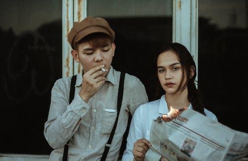Základová fotografie zdarma na téma asiat, asiaté, asiatka, asijský pár