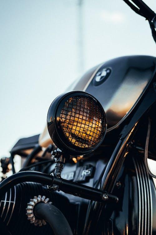 Black Bmw Motorcycle