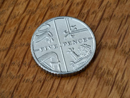 Immagine gratuita di 5 pence, conio, moneta, numismatica