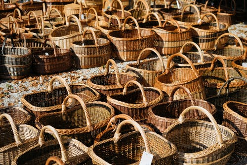 Brown Wicker Baskets